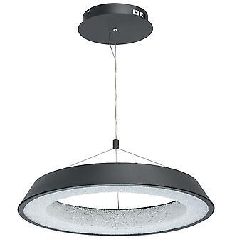 Glasberg - LED Pingente ajustável grande em Matt ouro e branco 703010901