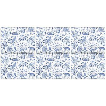 Pimpernel botanický modrý Placemats