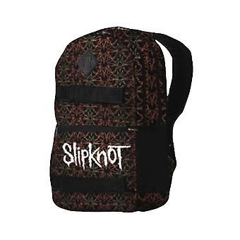 Slipknot ryggsekk Skate Bag Pentagram Iowa bandets Logo nye offisielle svart