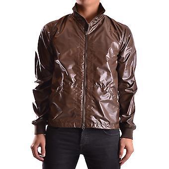 Aspesi Ezbc067033 Men's Brown Polyester Outerwear Jacket