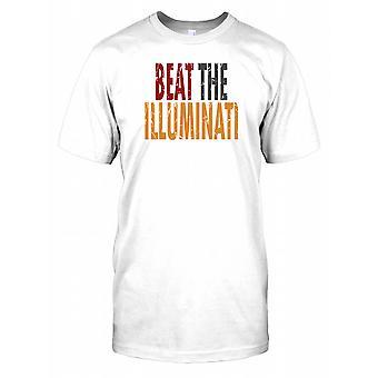 Slå Illuminati - konspiration Mens T Shirt
