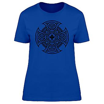 Dekorative schwarze Kreuz T-Shirt Herren-Bild von Shutterstock