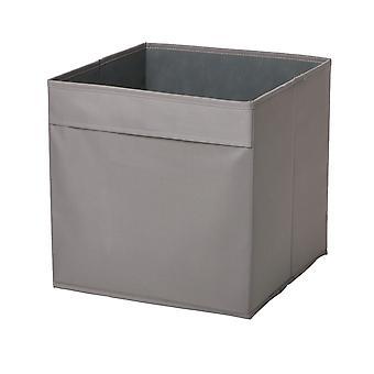 Country Club Fabric Storage Box, Grey