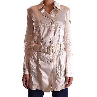 Geospirit Ezbc203015 Women's White Polyester Outerwear Jacket