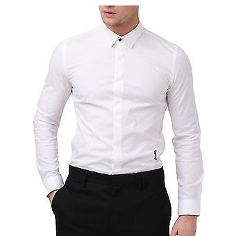 Religion Clothing Legion Long Sleeved Shirt White