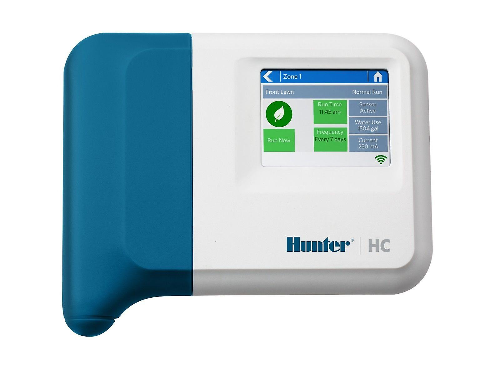 Hunter Hydrawise HC-601i, 6 station controller, Wi-Fi connection 230 VAC indoor plastic