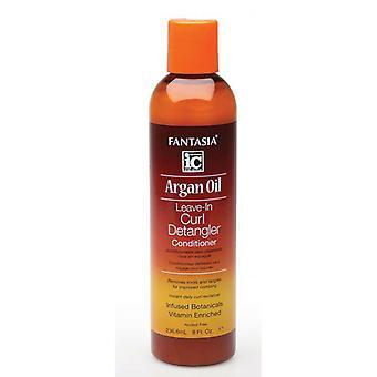 Fantasia di olio di Argan Curl Leave-In Detangler condizionatore 237ml