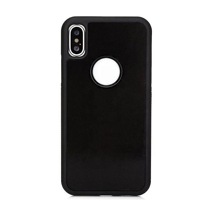 Stuff Certified® iPhone XS Max - Anti Gravity Absorption Case Cover Cas Case Black