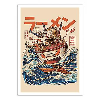 Art-Poster - Great Ramen off Kanagawa - Ilustrata