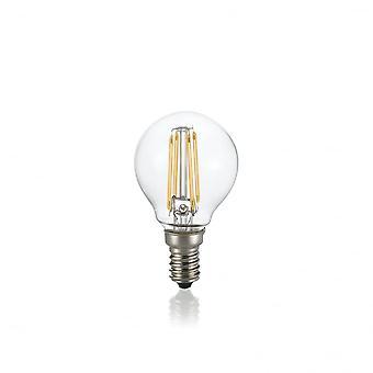 理想 Lux 灯泡经典 E14 4W 斯费拉 透明 4000K