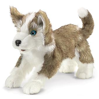 Hand Puppet - Folkmanis - Wolf Pup Animals Soft Doll Plush 2994