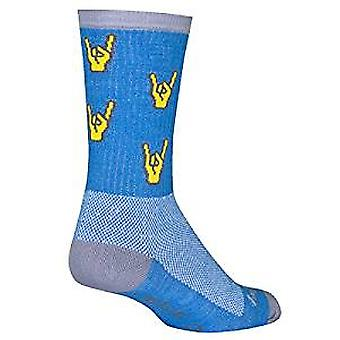 Chaussettes - Sockguy - Crew - Rock On S/M Cycling/Running