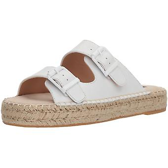 Steven by Steve Madden Womens Lapis Leather Open Toe Casual Espadrille Sandals