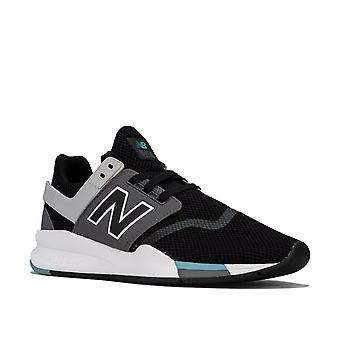 Womens New Balance 247 Trainers Standard Fit In Black
