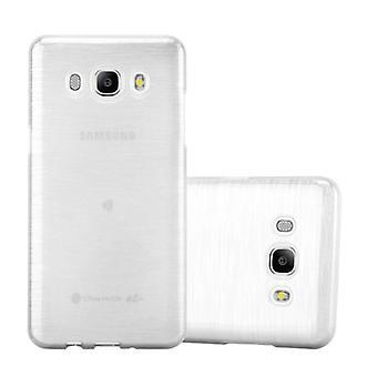 Cadorabo Case för Samsung Galaxy J7 2016 fodral Cover-mobiltelefon Case tillverkad av flexibel TPU Silikon-silikonfodral skyddande fodral Ultra Slim Soft Back Cover fodral stötfångare
