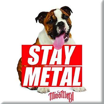 Miss May I Fridge Magnet Dog new Official 76mm x 76mm