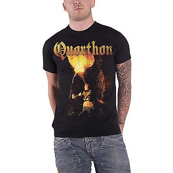 Quorthon T Shirt Hail The Hordes band logo new Official Mens Black