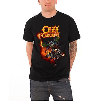 Ozzy Osbourne T Shirt Demon Bull mens new black Official