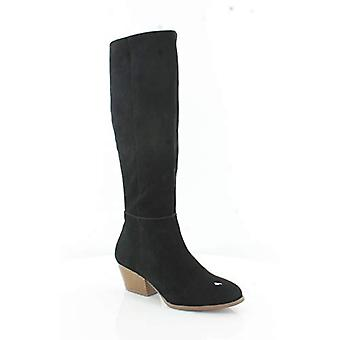 Style & Co. Womens Izaleal Suede Almond Toe Knee High Fashion Boots