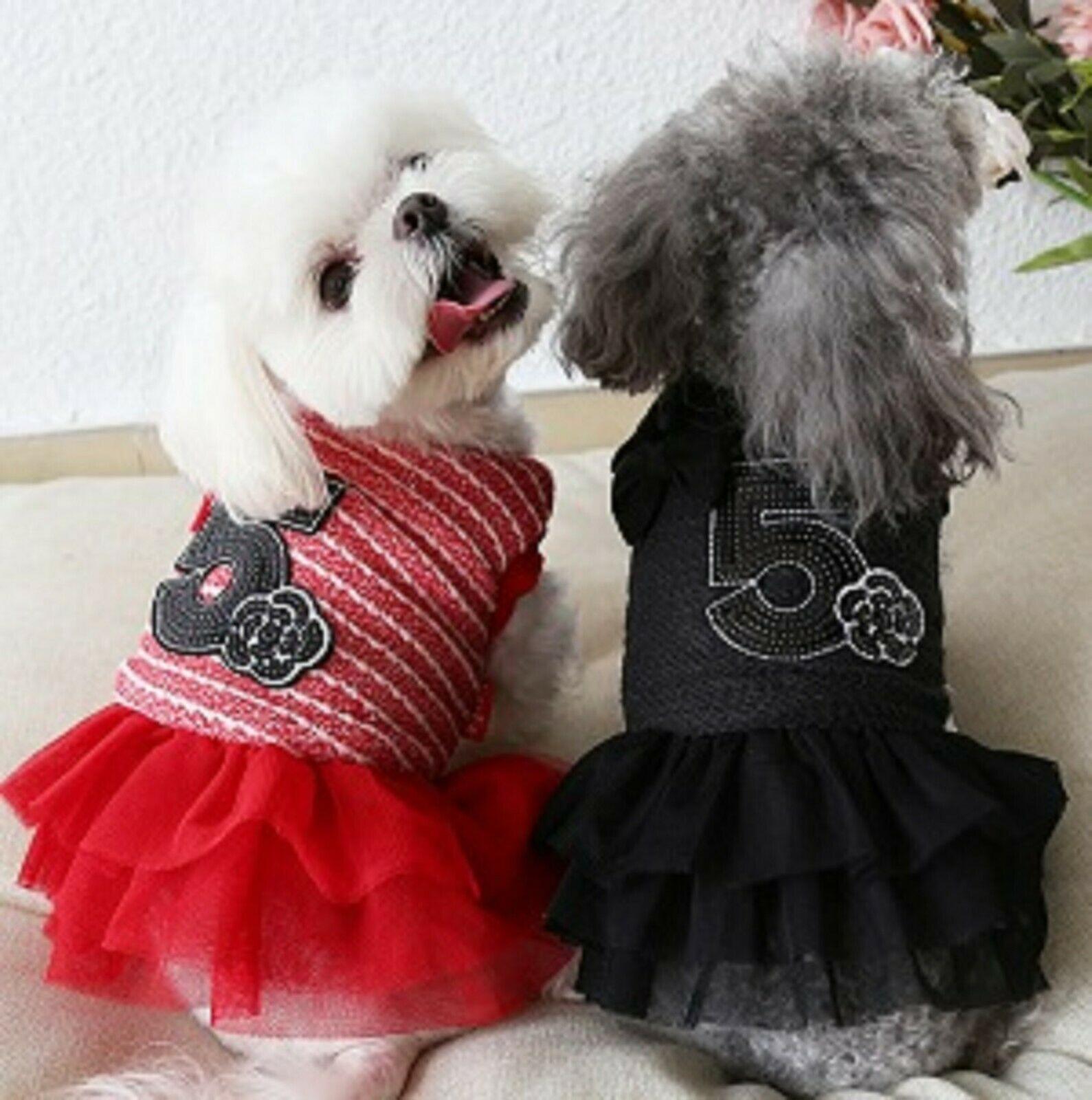 Le Couture Number 5 Paris Dog Dress