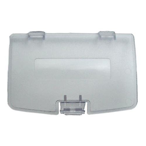 Replacement battery cover door for nintendo game boy color - clear