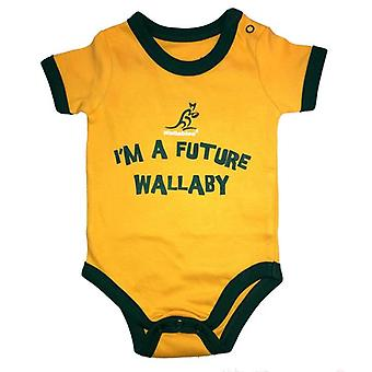 Australia Rugby Wallabies Baby Bodysuit | Yellow | 2019/20 Season
