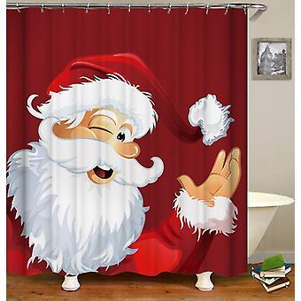 يبتسم سانتا دش الستار