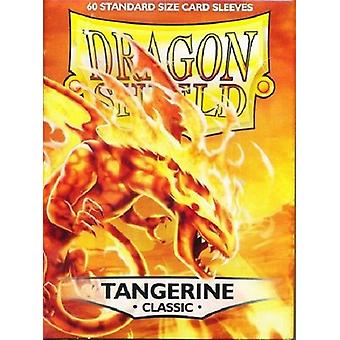 Dragon Shield 60ct Pack Classic Tangerine (Pacote de 10)