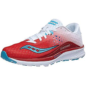 Saucony Womens Kinvaara Low Top Lace Up Running Sneaker
