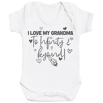 I Love My Grandma To Infinity & Beyond - Baby Bodysuit