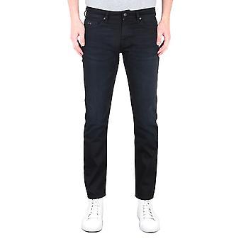 BOSS Delaware Slim FIt Stretch Schwarz Jeans