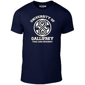 Men's università di t-shirt gallifrey.