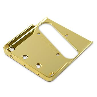 Kluson Vintage Replacement Steel Baseplate With Short Sidews For Fender Telecaster Bridges