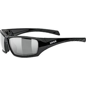 Uvex Sportstyle 308 musta matto Miroité hopea kissa. 4