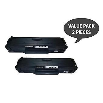 2 x MLT-D111s Black Premium Generic Toner