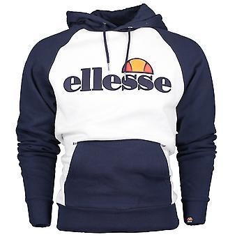 ELLESSE Taliamento Oh bawełna biała Bluza z kapturem