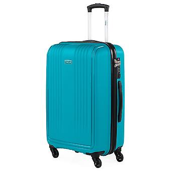 Travel Case With 4 Wheels Itaca Signature Made of Polypropylene Pp