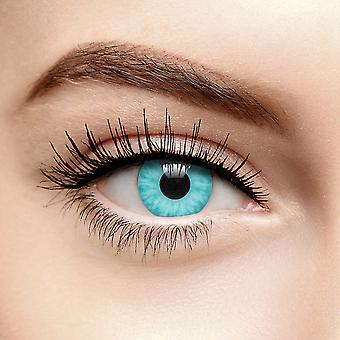Aqua Blue Ice Walker Colored Contact Lenses (90 Day)