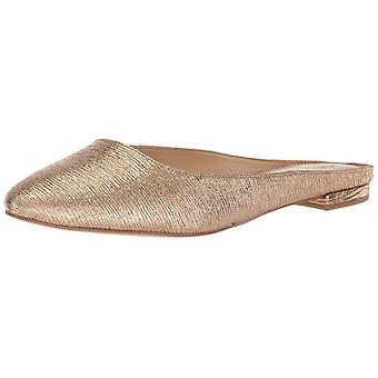 Katy Perry Womens KP0418 Leather Pointed Toe Slide Flats