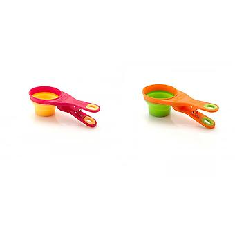 Equilibrium Simplyscoop Collapsible Scoop (Pack Of 4)