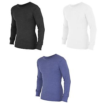 FLOSO Mens Thermal Underwear Long Sleeve T Shirt Top (Standard Range)