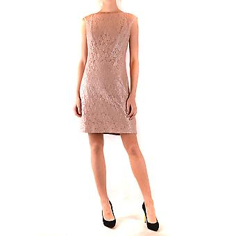 Ralph Lauren Ezbc037213 Women's Pink Cotton Dress