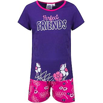 My little pony girls pyjama set cotton with glitter