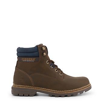 Carrera Jeans Originele Heren Herfst/Winter enkellaars - Bruine kleur 36061