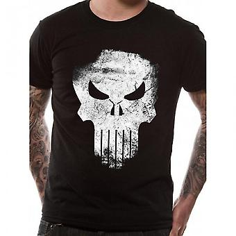 Marvel Mens Knights Punisher T-paita