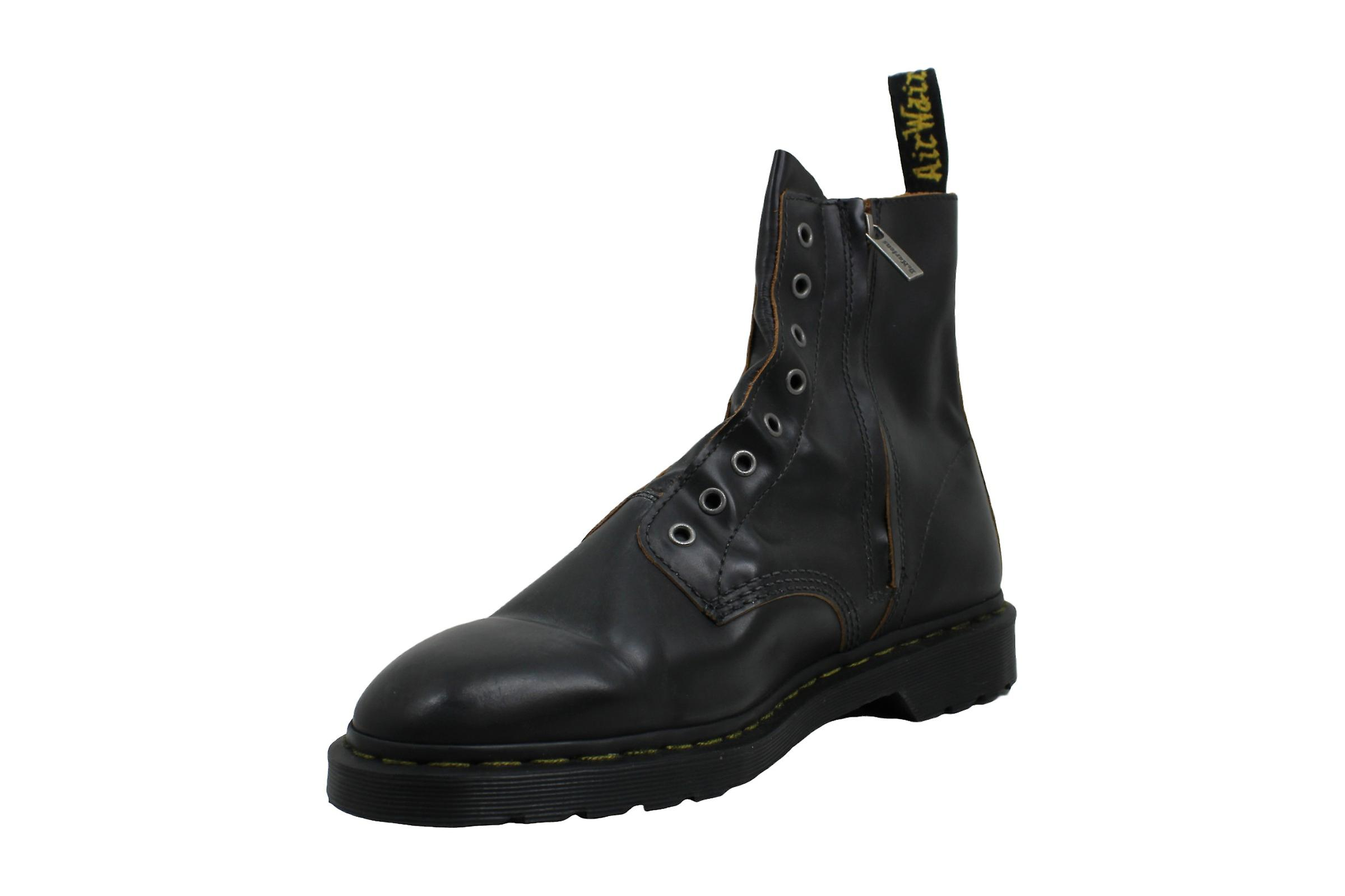 Dr. Martens Womens 43664 Leather Closed Toe Mid-calf Fashion Boots