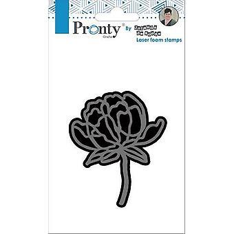Pronty Foam stamp Flower 1 494.905.004 by Jolanda