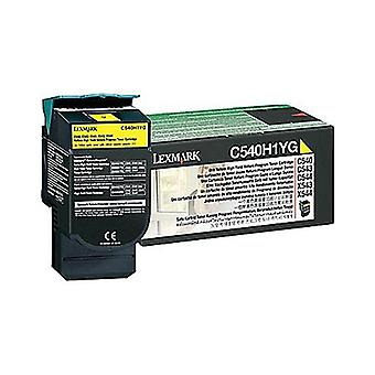 Lexmark C540H1Yg Yellow Toner Yield 2K Pages