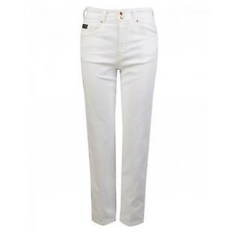 Versace Jeans Couture Audrey Boyfriend Cropped Jeans