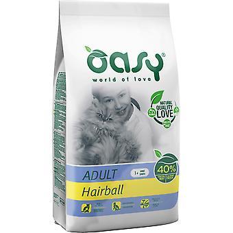 Oasy Anti-Hairball per adulti (Gatti , Cibo per gatti , Cibo secco)